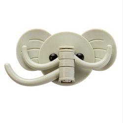 Móc dán treo tường hình con voi giá sỉ, giá bán buôn