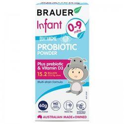 Brauer Probiotic Power - Men Vi sinh Úc Dạng Bột Dành Cho Trẻ Từ 0 - 9 Tháng Tuổi - 60g giá sỉ