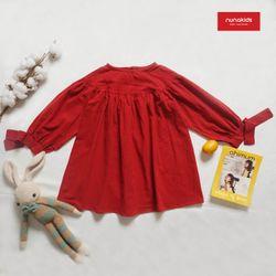 Váy đũi Nhật nơ tay bé gái giá sỉ