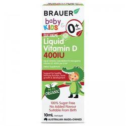 Brauer Kids Liquid Vitamin D 400IU Từ Úc Dành Cho Trẻ Sơ Sinh Trở Lên - 10ml giá sỉ