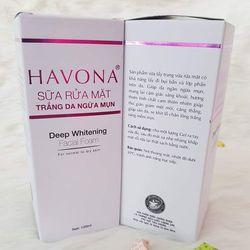 Sữa rửa mặt trắng da ngừa mụn Havona giá sỉ