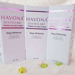 Sữa rửa mặt trắng da ngừa mụn Havona giá sỉ, giá bán buôn