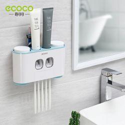 Ecoco Dụng Cụ Nặn Kem Kèm Treo Bàn Chải và Ly Cao Cấp giá sỉ