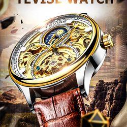 Đồng hồ cơ tevise t820 giá sỉ