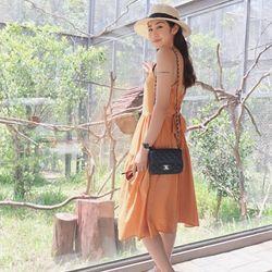 Túi Đeo Chéo Nữ Clasic Màu Đen Size 18cm giá sỉ