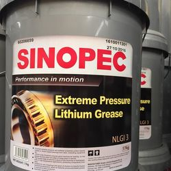 Mỡ Sinopec EP Lithium Grease NLGI 3 xô 17Kgram giá sỉ