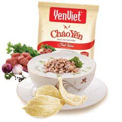 Cháo Yến Việt 3 vị gà nấm thịt bằm giá sỉ