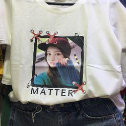 Áo thun hình cô gái giá sỉ