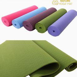 Thảm Yoga TPE 6mm 1 Lớp Tặng Kèm Túi Đựng Dây Buộc giá sỉ