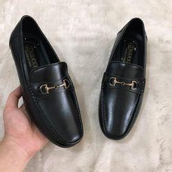 giày mọi nam giày lười GC chất da bò đế khâu chắc chắn giá sỉ