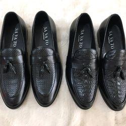 giày lười nam dio nơ chuông hàng đẹp đế đẹp giá sỉ