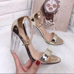 Giày sandal gót trụ giá sỉ