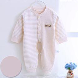 Bộ áo liền quần cho bé sơ sinh cotton thun thoáng mát 117 giá sỉ