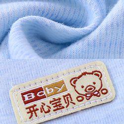 Bộ áo liền quần cho bé sơ sinh cotton thun thoáng mát 117