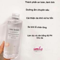 Nước hoa hồng Muji 200ml cho làn da căng mịn khỏe mạnh giá sỉ, giá bán buôn
