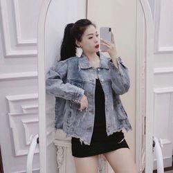 áo khoác jean thời trang giá sỉ