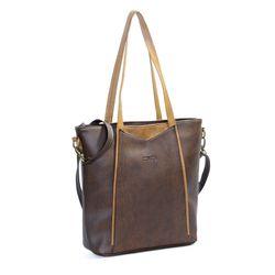 Túi xách nữ CNT TX26 cao cấp Nâu giá sỉ