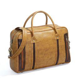 Túi xách du lịch kiêm cặp công sở CNT TX27 Bò Lợt giá sỉ, giá bán buôn