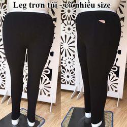 Quần legging trơn bigsize Nga size từ 65-120kg giá sỉ
