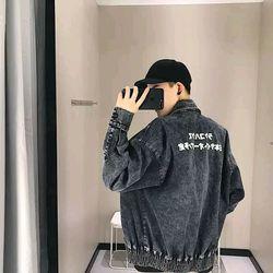 Áo khoác jeans thời trang unisex nam nữ giá sỉ