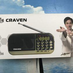 Loa nghe nhạc CRAVEN CR836S