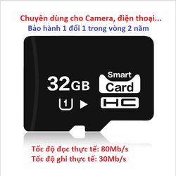 Thẻ nhớ 32GB U1 eekoo - Hàng chuẩn - Giá đẹp