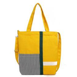 Túi xách vải mang vai hoặc đeo chéo hình sọc giá sỉ