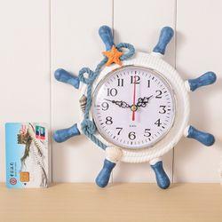 Đồng hồ để bàn hình tay lái tàu chủ đề biển giá sỉ