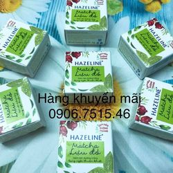 Kem nén dưỡng trắng Hazeline Matcha và lựu đỏ