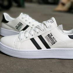 Giày bata trắng đen giá sỉ