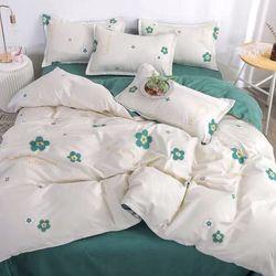 Bộ Chăn Ga Gối Cotton Korea NS216 giá sỉ, giá bán buôn
