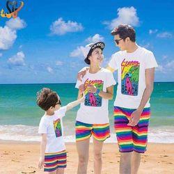 Áo thun gia đình đi biển A1 giá sỉ, giá bán buôn