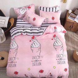 Bộ Chăn Ga Gối Cotton Korea NS219 giá sỉ, giá bán buôn