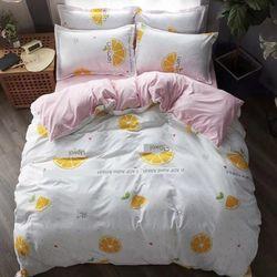 Bộ Chăn Ga Gối Cotton Korea NS214 giá sỉ, giá bán buôn