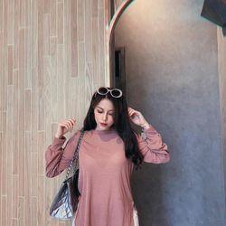 áo len nữ đẹp kiểu hàn quốc dễ thương giá sỉ dài tay vạt bầu BN 44639 Kèm Ảnh Thật giá sỉ