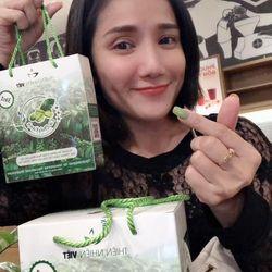 Hộp 10 gói cà phê xanh giảm cân Thiên Nhiên Việt - Hộp 10 gói CF xanh giá sỉ