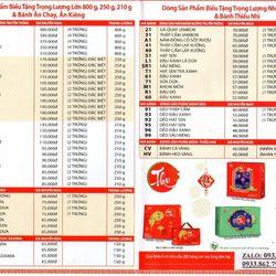 Phú Quý Niên Trường Thọ - Bánh Trung thu Kinh đô hộp 4 bánh giá sỉ, giá bán buôn