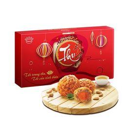 Phú Quý Lộc Quyền Lai - Bánh trung thu Kinh đô hộp 4 bánh giá sỉ, giá bán buôn