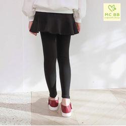 Quần legging dài phối chân váy giá sỉ
