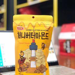 Hạt hạnh nhân mật ong Hàn Quốc 200g mẫu mới giá sỉ giá bán buôn giá sỉ