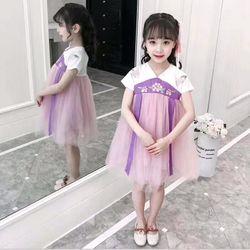 váy cổ trang bé gái giá sỉ
