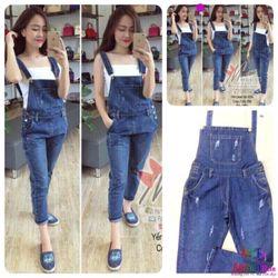 Yếm quần jean DV00607604 giá sỉ