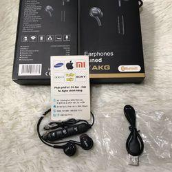 Tai nghe s8/s8 AKG sử dụng bluetooth âm thanh hay pin khoẽ giá sỉ