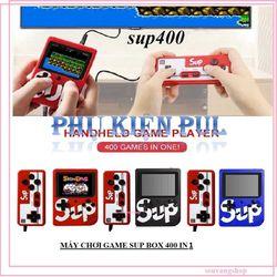 MÁY CHƠI GAME SUP BOX 400 IN 1 PLUS TẶNG 1 TAY CẦM HỖ TRỢ 2 NGƯỜI CHƠI giá sỉ