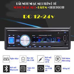 Máy Nghe Nhạc MP3 Bluetooth Cho Ô Tô Tải MP3-1068 Nguồn 24V giá sỉ