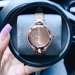 Đồng hồ nữ justt cavali animalc giá sỉ