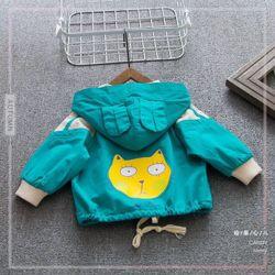 Áo khoác mặt mèo hoạt hình ngộ nghĩnh cho cả bé trai và bé gái giá sỉ, giá bán buôn