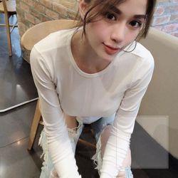 áo len nữ đẹp kiểu hàn quốc dễ thương giá sỉ dài tay xỏ ngón rút eo BN 43530 Kèm Ảnh Thật