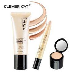 Kem lót và che khuyết điểm Clever cat Collagen BB Face angreci giá sỉ