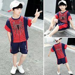 Bộ thun nhện cho bé trai giá sỉ tphcm